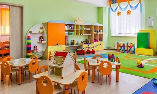 COLOURFUL CLASSROOMS
